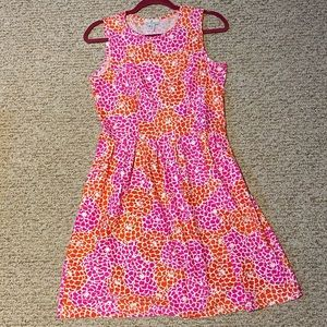 Jude Connally pink and orange sundress. Small.